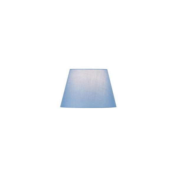 SLV 156167 Fenda, Textilschirm, 30cm, blau