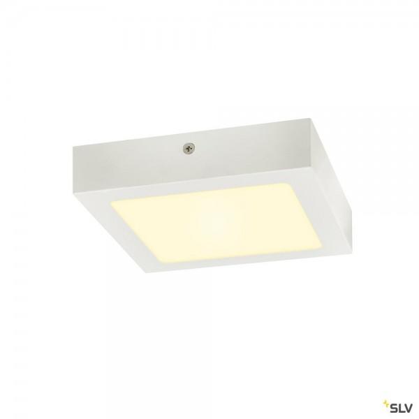 SLV 1003018 Senser 18, Wand- und Deckenleuchte, weiß, dimmbar Triac C, LED, 12W, 3000K, 880lm