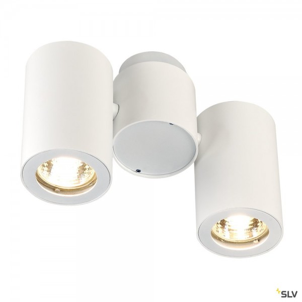 SLV 151831 Enola_B, Strahler, weiß, QPAR51, GU10, max.2x50W