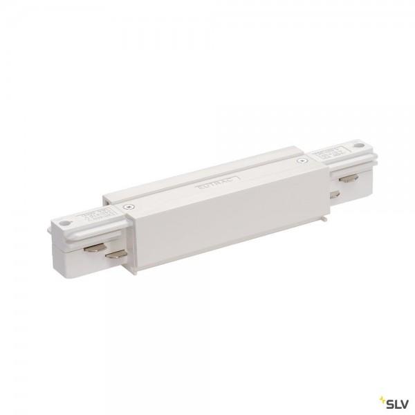 SLV 1001517 3Phasen, Eutrac, Aufbauschiene, Längsverbinder, weiß