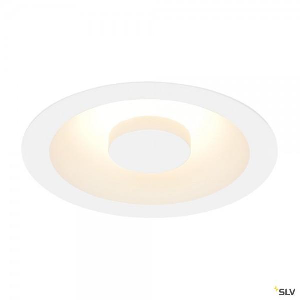SLV 117331 Occuldas 14, Deckeneinbauleuchte, weiß, dimmbar C, LED, 15W, 3000K, 810lm