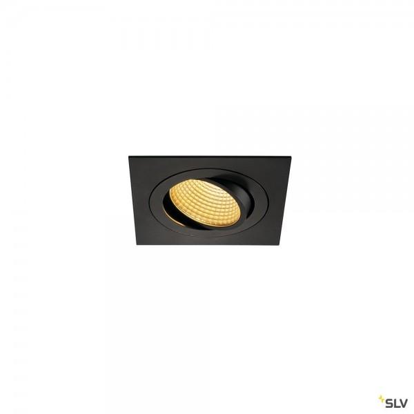 SLV 114240 New Tria 1 Set, Deckeneinbauleuchte, dimmbar L, LED, 16W, 2700K, 1010lm