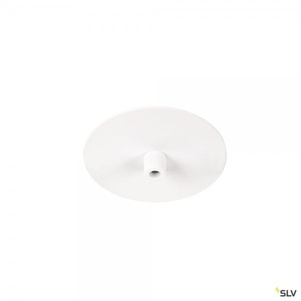 SLV 1004675 Fitu, Einbaurosette, 1er, weiß