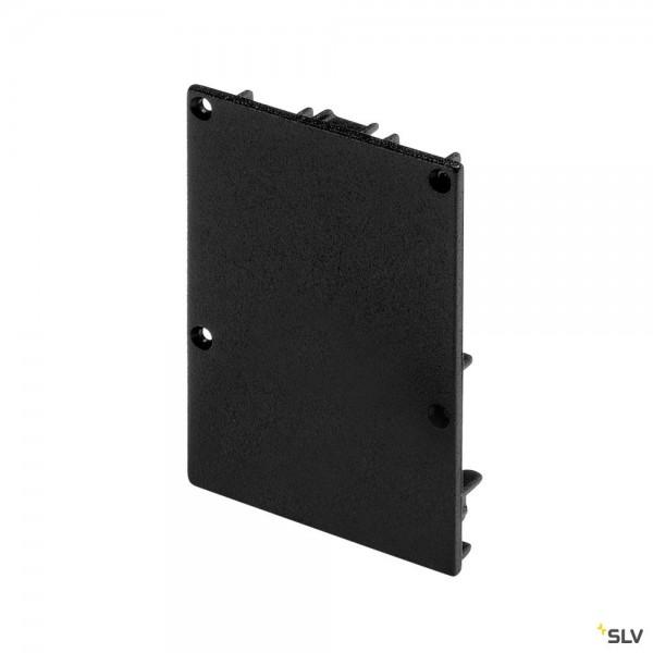 SLV 213480 Endkappen 2 Stück, schwarz matt, Glenos 4970