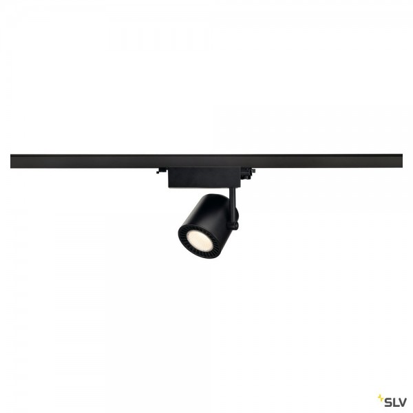 SLV 1003291 Supros Track, 3Phasen, Strahler, schwarz, LED, 31W, 3000K, 2600lm