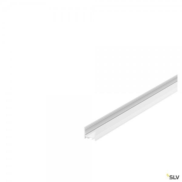 SLV 1000512 Grazia 3532, Aufbauprofil, weiß, B/H/L 3,5x3,2x200cm, LED Strip max.B.2cm