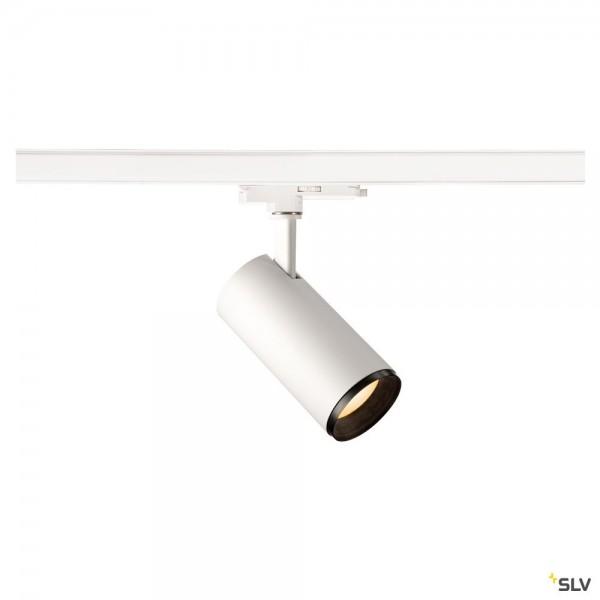 SLV 1004462 Numinos M, 3 Phasen, Strahler, weiß/schwarz, dimmbar Dali, LED, 20,1W, 2700K, 1925lm, 24