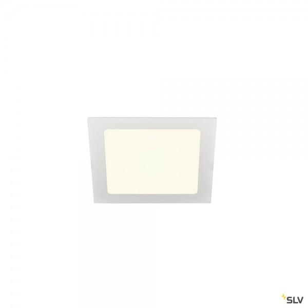 SLV 1004698 Senser 18, Deckeneinbauleuchte, weiß, LED, 9,7W, 4000K, 880lm