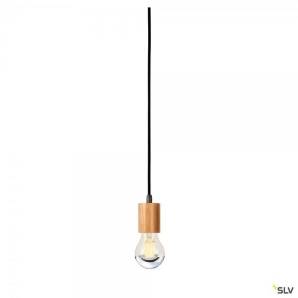 SLV 1000581 Fitu, Pendelabhängung, Bambus, ohne Rosette, E27, max.60W