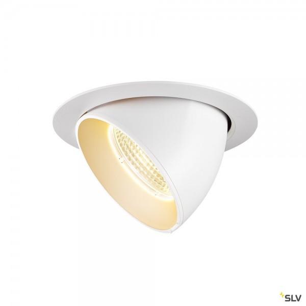 SLV 1002888 Gimble In 150, Deckeneinbauleuchte, weiß, LED, 25,5W, 3000K, 2300lm