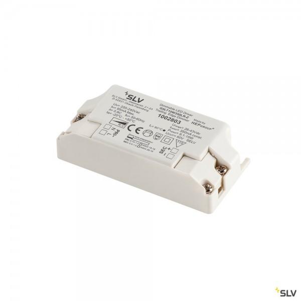 SLV 1002803 LED Treiber, dimmbar Triac C, 350mA, 15W