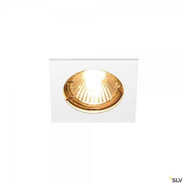 SLV 1002204 Pika, Deckeneinbauleuchte, weiß, QPAR51, GU10, max.50W