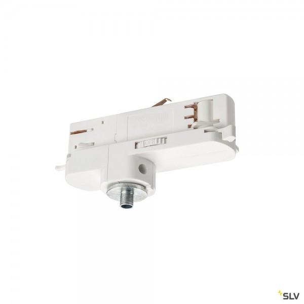 SLV 1002659 3Phasen, S-Track Dali, Aufbauschiene, Leuchtenadapter, weiß