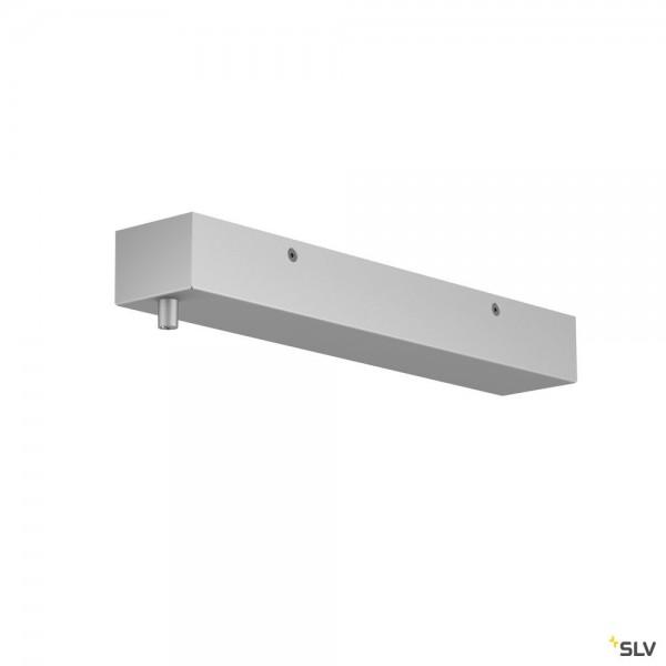 SLV 1001805 Rosette, grau, H-Profil