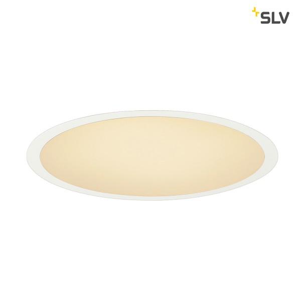 SLV 1000852 Medo 30, Deckeneinbauleuchte, weiß, dimmbar 1-10V, LED, 15W, 3000K, 1000lm