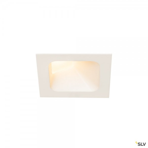 SLV 1000795 Verlux, Deckeneinbauleuchte, weiß, dimmbar Triac C+L, LED, 8,6W, 3000K, 650lm