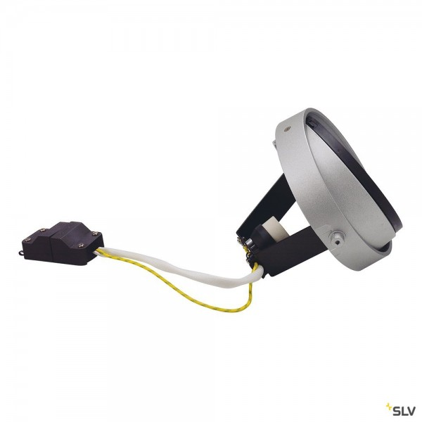 SLV 115014 QPAR111 Modul, Aixlight® Pro, silbergrau/schwarz, GU10, max.75W