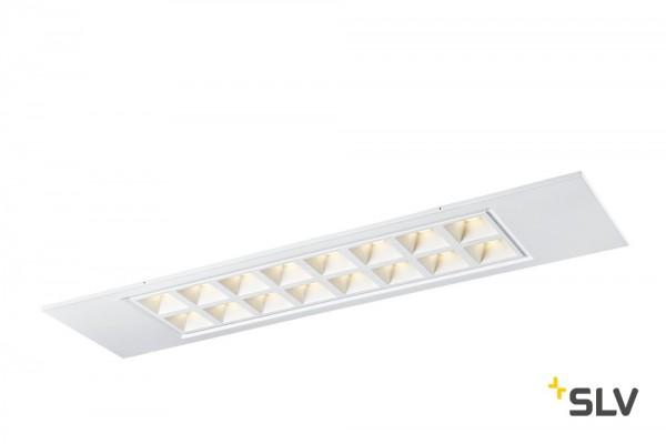 SLV 1003081 Pavono, Deckeneinbauleuchte, weiß, LED, 25W, 4000K, 3550lm