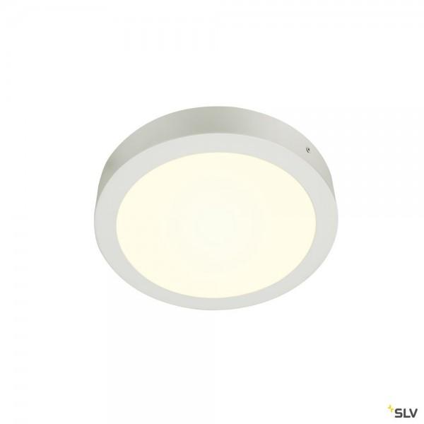 SLV 1004702 Senser 24, Wand- und Deckenleuchte, weiß, dimmbar C, LED, 15W, 4000K, 1300lm