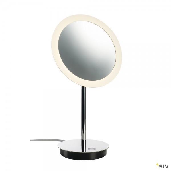 SLV 1004970 Maganda, Tisch- und Spiegelleuchte, chrom, IP44, LED, 4,8W, 2700/3000/4000K, 51lm