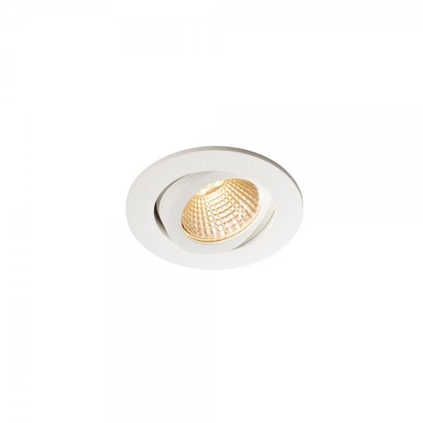 SLV 1000304 Pireq 68 Integrated, Einbauleuchte, weiß, IP23, LED, 6,6W, 3000K, 580lm