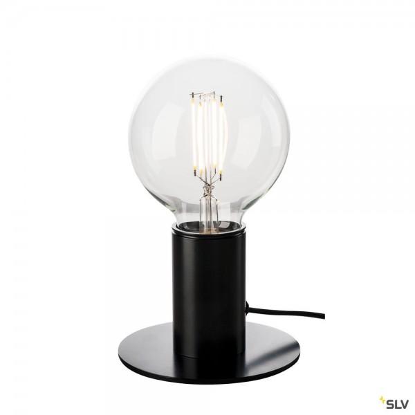 SLV 1001676 Fitu, Tischleuchte, schwarz, LED E27, max.10W
