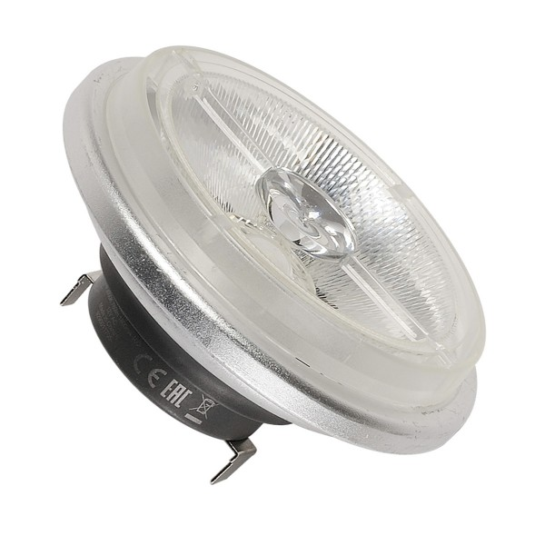 SLV 560234 Leuchtmittel, dimmbar, QR111, G53, LED, 15W, 3000K, 760lm, 40°