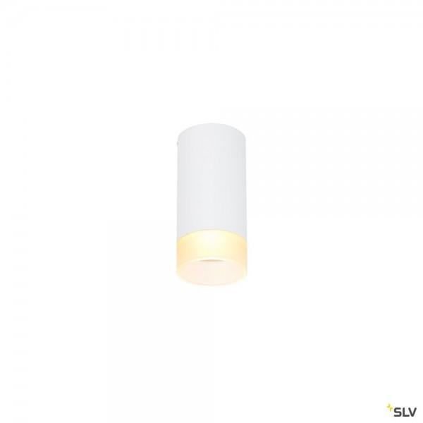 SLV 1002934 Astina, Deckenleuchte, weiß, QPAR51, GU10, max.10W