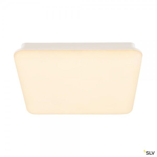 SLV 163030 Sima, Wand- und Deckenleuchte, weiß, IP44, dimmbar Triac C+L, LED, 25W, 3000K, 2300lm