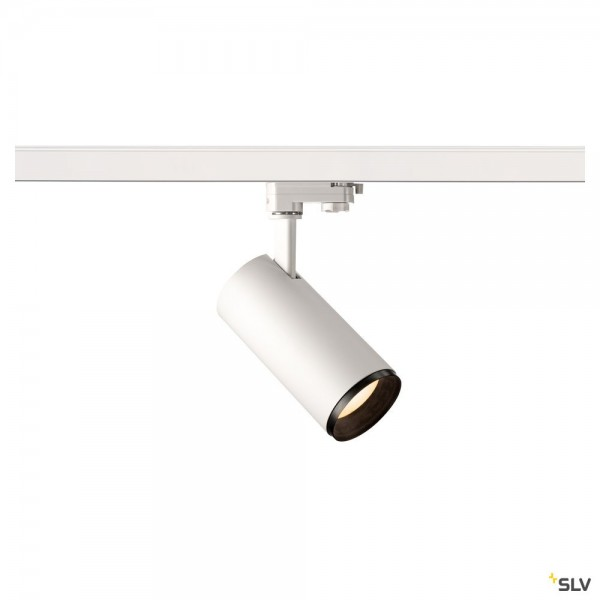 SLV 1004183 Numinos M, 3Phasen, Strahler, weiß/schwarz, dimmbar C, LED, 20,1W, 3000K, 1970lm, 36°