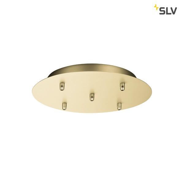 SLV 1002165 Fitu, Deckenrosette, gold, 5er