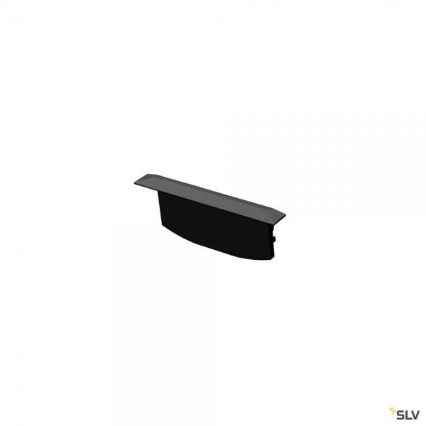 SLV 1004909 Grazia 60, Endkappen, schwarz, 2 Stück