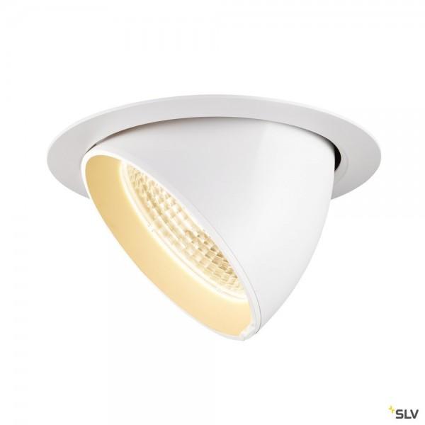 SLV 1002881 Gimble In 175, Deckeneinbauleuchte, weiß, LED, 38W, 3000K, 3340lm