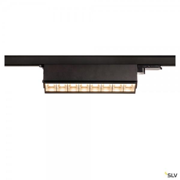SLV 1004686 Sight Move, 3Phasen, Strahler, schwarz, LED, 26W, 3000K, 2700lm