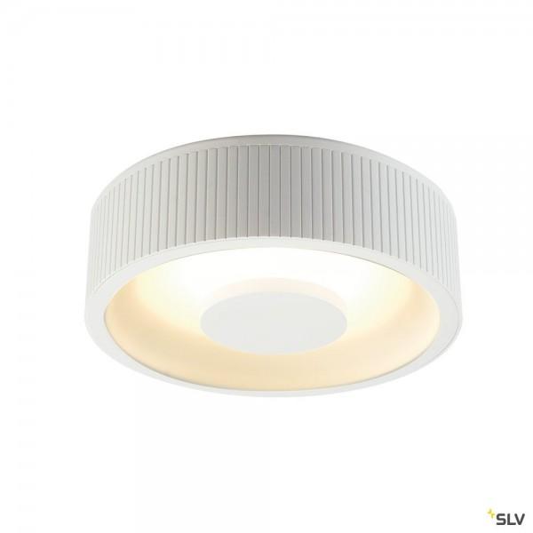 SLV 117321 Occuldas 23, Deckenleuchte, weiß, dimmbar Triac C+L, LED, 26W, 3000K, 1500lm