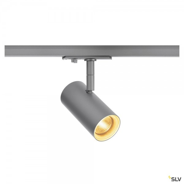 SLV 1001864 Noblo, 1 Phasen, Strahler, silbergrau, dimmbar C, LED, 7,5W, 2700K, 620lm