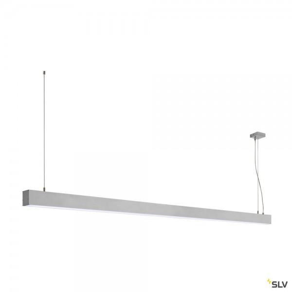 SLV 1001411 Glenos, Pendelleuchte, alu eloxiert, dimmbar 1-10V, LED, 85W, 4000K, 6600lm