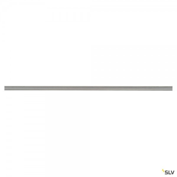 SLV 143022 1 Phasen, Aufbauschiene, 200cm, silbergrau