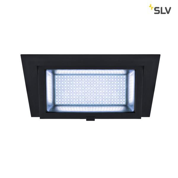 SLV 1000790 Alamea, Deckeneinbauleuchte, schwarz, LED, 36W, 4000K, 3800lm