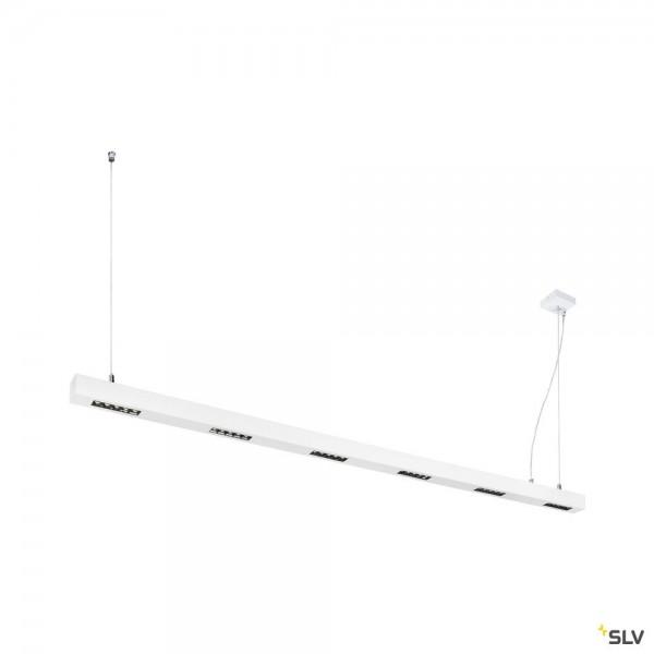 SLV 1000935 Q-Line, Pendelleuchte, weiß, dimmbar Triac L, LED, 85W, 4000K, 4600lm