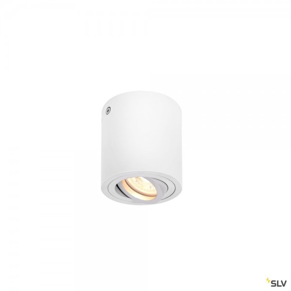 SLV 1002011 Triledo Round CL, Deckenleuchte, LED GU10, max.10W