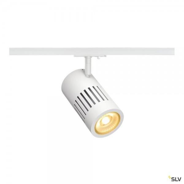 SLV 1000978 Structec, 1 Phasen, Strahler, weiß, LED, 28W, 3000K, 2650lm, 60°