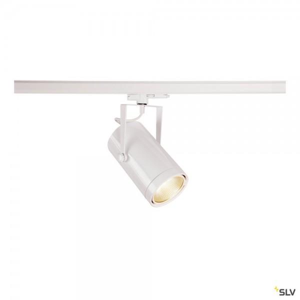 SLV 1002812 Euro Spot, 3Phasen, Strahler, weiß, dimmbar Dali, LED, 42W, 4000K, 3200lm, 15°