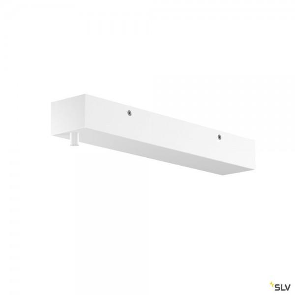 SLV 1001804 Rosette, weiß, H-Profil