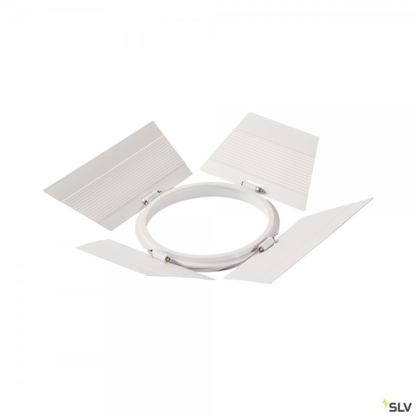 SLV 1000680 Supros, Blendkappen, weiß