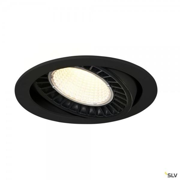 SLV 1003305 Supros, Deckeneinbauleuchte, schwarz, LED, 36W, 4000K, 3520lm