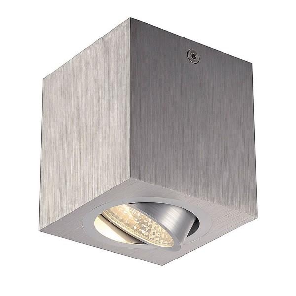 SLV 1000255 Uno Lux Square, Deckenleuchte, alu gebürstet, LED, 8,1W, 3000K, 670lm
