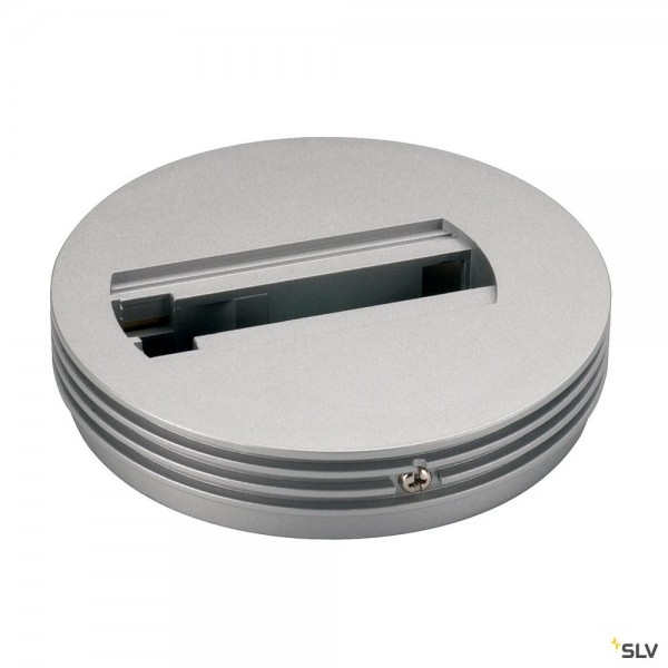 SLV 143382 1 Phasen, Aufbauschiene, Deckenrosette, silbergrau