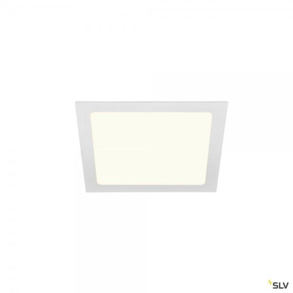 SLV 1004699 Senser 24, Deckeneinbauleuchte, weiß, LED, 13W, 4000K, 1240lm
