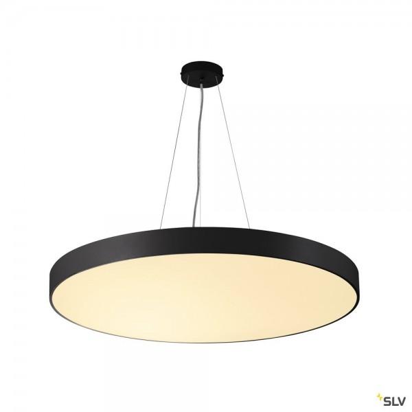 SLV 135250 + 1001890 Medo 90 Ambient, schwarz, 1,5m, dimmbar Dali, LED, 78W, 3000K/4000K, 10225lm